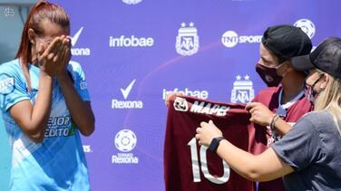 Histórico: Mara Gómez, futbolista trans, debuta profesionalmente