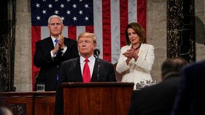 ¿Cómo se interpreta el mensaje del presidente Trump en su discurso del Estado de la Unión?
