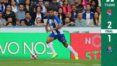 Amargo debut de liga para 'Tecatito' y Marchesín con el Porto