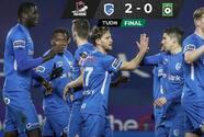 Arteaga toma regularidad y gana con el Genk 2-0 en la Jupiler League