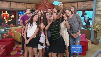 ¡La mega-selfie con Selena Gómez en Despierta America!