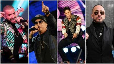 Nacho, Daddy, Yandel y Chyno compiten por el primer lugar estrenando videos musicales en simultáneo