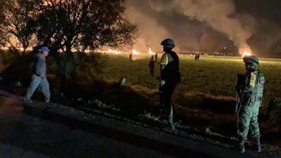 Al menos 21 muertos deja la explosión de un ducto de gasolina en México