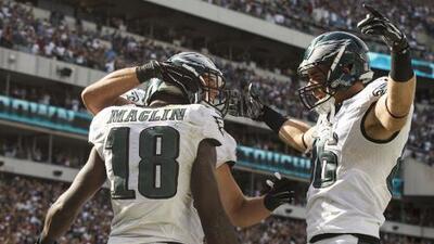 Eagles 34-17 Jaguars: Philadelphia evitó la gran sorpresa al venir de atrás