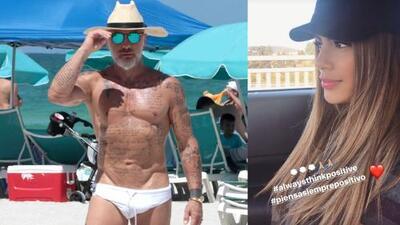 Embargo al millonario Gianluca Vacchi no ahuyenta a la colombiana Ariadna Gutiérrez