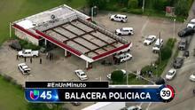 En Un Minuto Houston: Un policía disparó a un sujeto a quien trataba de arrestar