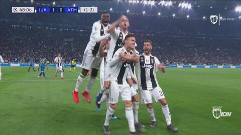¡Otra vez Cristiano! El 'ojo de halcón' validó gol de la Juventus
