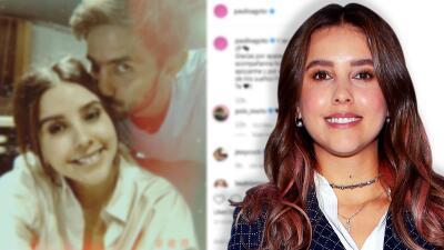 Paulina Goto, igual que su ex Horacio Pancheri, se dice enamorada y envía mensaje a su nuevo novio