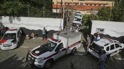 Dos antiguos alumnos son los atacantes del tiroteo en una escuela de Brasil