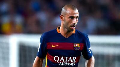 Mascherano es suspendido por dos partidos con el Barça