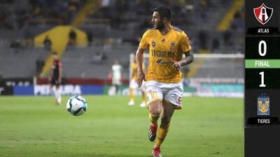 Atlas 0-1 Tigres – GOLES Y RESUMEN – Jornada 8 – Clausura 2019 Liga MX