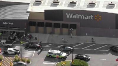 En condición estable permanece oficial herido durante un tiroteo en una tienda Walmart