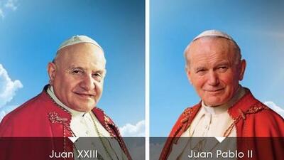 Misa de canonización de Juan Pablo II y Juan XXIII
