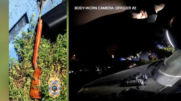Policía de Long Beach dispara a una mujer que tenía un rifle; un hombre también fue hallado muerto