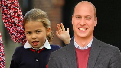 """La princesa Charlotte """"está encantada"""" con unas criaturas que no existen, confiesa el príncipe William"""