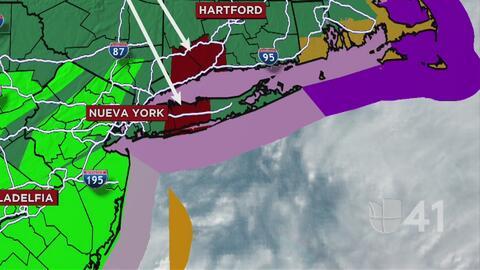 Hasta 2 pulgadas de lluvia por hora se esperan en el área triestatal este viernes