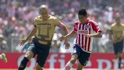 Cómo ver Chivas vs. Pumas en vivo, por los octavos de final de la Copa MX