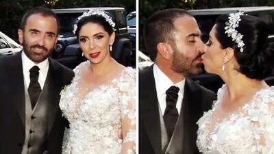 Todos los detalles de la romántica tercera boda de Vicente Fernández Jr.