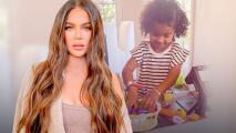 A sus 3 años, True muestra que heredó el talento de hacer dinero como su mamá Khloé Kardashian