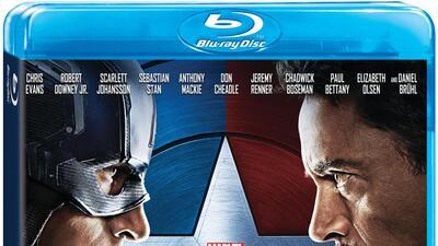 'Captain America: Civil War' ahora en 3D, Blu-ray, DVD y On-Demand