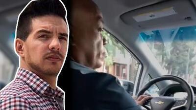 ¿Se le pasó la mano a Vadhir Derbez?: esto hizo el actor con un conductor de Uber tras un desacuerdo