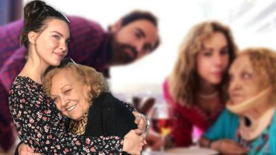 """""""¡Victoria conseguida!"""": tras la fractura que sufrió, abuela de Belinda reaparece en redes sociales"""