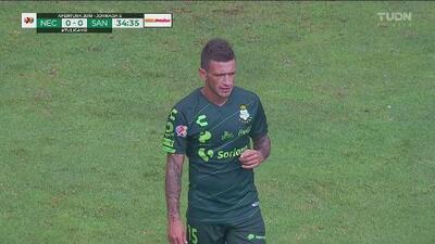 Polémica: El VAR anula gol de Brian Lozano
