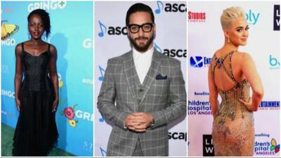 Los famosos que brillaron en las alfombras rojas durante esta semana
