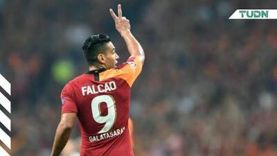 Radamel Falcao no jugará contra el Real Madrid