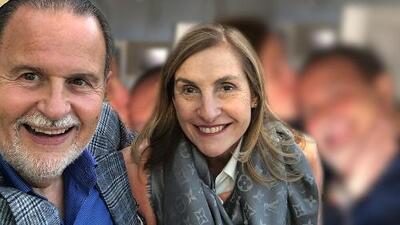 El Gordo recibió una tierna sorpresa de su esposa por su cumpleaños a medianoche y en pleno vuelo
