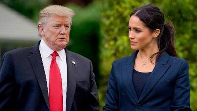 """Donald Trump llama """"grosera"""" a Meghan Markle antes de llegar a Londres: el audio de lo dicho por el presidente"""