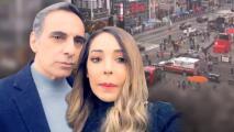 """""""Fuimos suertudos"""": Gelena Solano y su esposo narran el terror que vivieron en el tiroteo en Times Square"""