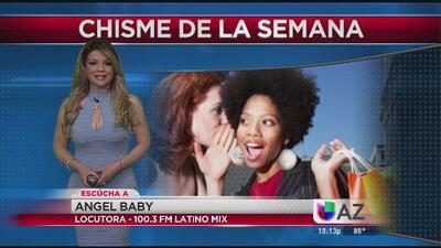 Angel Baby de Latino Mix 100.3 y El Chisme de la Semana en Noticias Univision Arizona