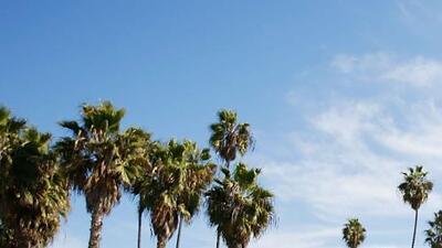 Miércoles de cielo ligeramente nublado y temperatura moderada en Los Ángeles