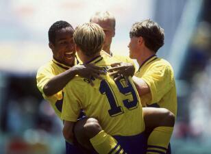 Historias de Mundiales: la Suecia que sacudió en 1994 con una peligrosa efectividad