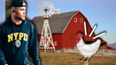 Richard de CNCO lloró por una gallina mascota que su mamá mató para un sancocho
