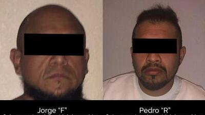 Capturan a dos presuntos capos de la droga rivales que operaban en la Ciudad de México