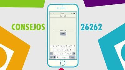 Envía la palabra 'CONSEJOS' al 26262 para aprender cómo potenciar las habilidades de tus niños entre los 0 y 5 años de edad