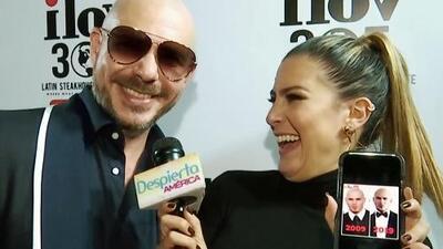 Pitbull llega a los 38 años cumpliendo un sueño que siempre tuvo (e invita a todos a ser parte de él)
