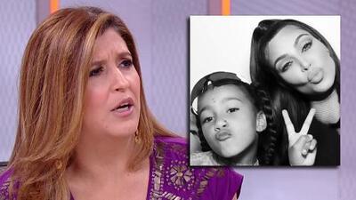 ¿Para horrorizarse? Las reacciones que provoca ver a la hija de Kim Kardashian con un arete en la nariz