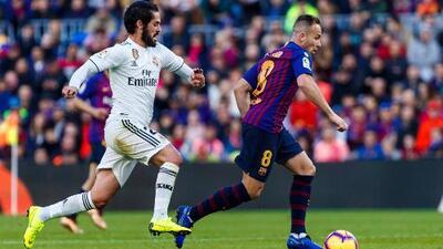 Bajas en el Clásico de España para la vuelta, Arthur e Isco están lesionados