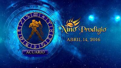 Niño Prodigio - Acuario 14 de abril, 2016