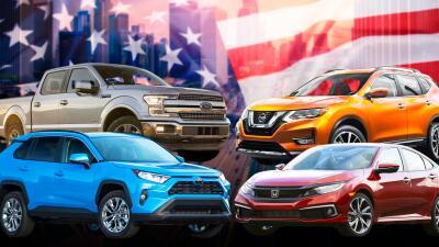 Estos son los carros que en 2019 llevan la delantera en ventas en EEUU