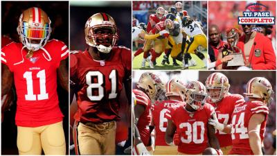 Los San Francisco 49ers comienzan una temporada con marca de 3-0 después de 21 años