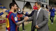 Inicia por buen camino la misión 'Renovar a Messi'