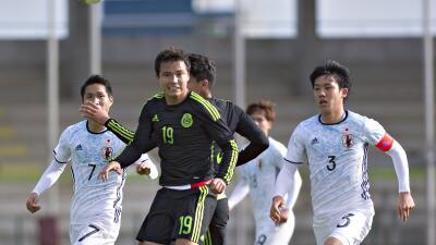 La Sub 23 de México pierde 2-1 ante Japón en amistoso
