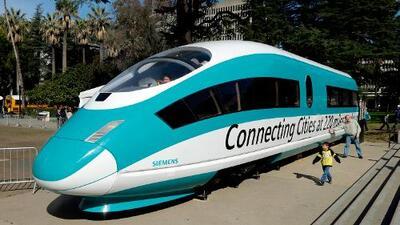 El gobierno de Trump cancela los fondos para el tren bala de California