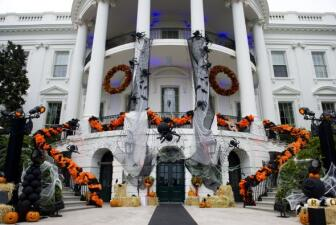 Halloween llegó a la Casa Blanca