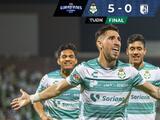 Santos Laguna vapulea al Querétaro y avanza a Cuartos de Final; chocará ante Monterrey