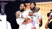 ¡Anthony Davis seguirá en Los Angeles Lakers!